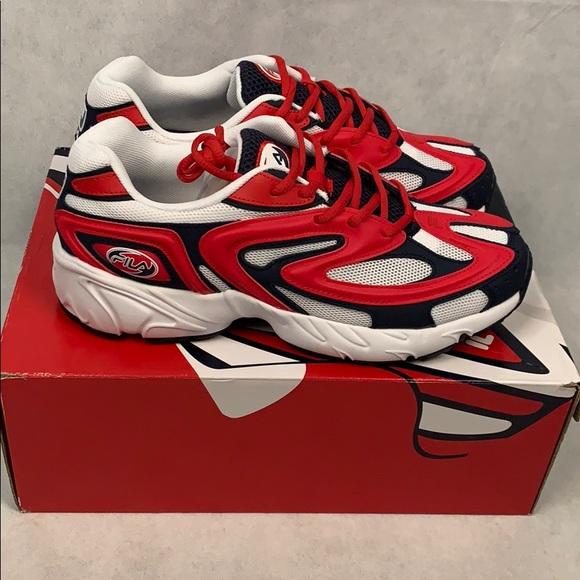 Mens Fila Buzzard Americana Sneakers